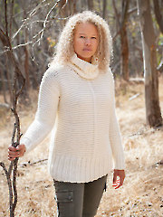 ANNIE'S SIGNATURE DESIGNS: Chunky Garter Sweater Knit Pattern