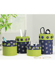 Fabric Caddies Sewing Pattern