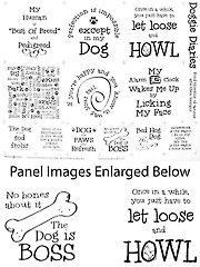 "Doggie Diaries Panel - 18"" x 22"""
