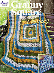 Granny Square Throws Crochet Pattern