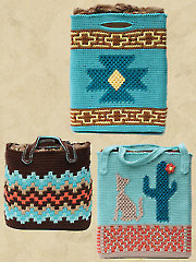 Native American Totes Crochet Pattern