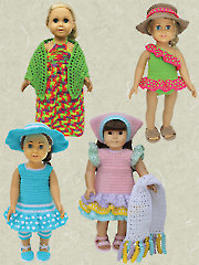 "Caribbean Cruise for 18"" Dolls Crochet Pattern"