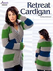Retreat Cardigan Crochet Pattern