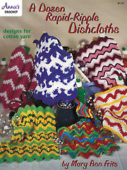 A Dozen Rapid-Ripple Dishcloths