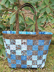 Checker Tote Bag Sewing Pattern