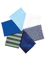 Blues Fat Quarters - 6/pkg.