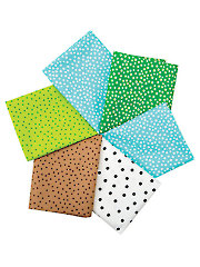 Dots Mystery Fat Quarters - 6/pkg.