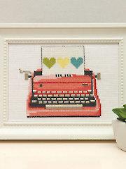 Pink Typewriter