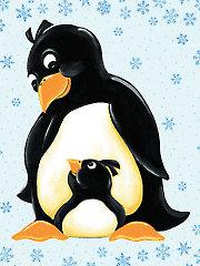 "Gwyn the Penguin Playmat Panel - 44"" x 36"""