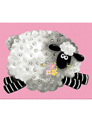 "Lal the Lamb Playmat Panel - 44"" x 36"""