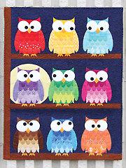 Hootsville Row Quilt Pattern