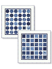 Square Peg Round Hole Quilt Pattern