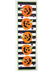 Roly-Poly Pumpkins Table Runner Pattern