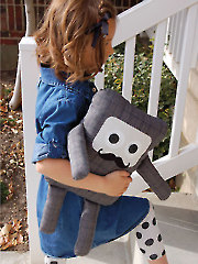 Square Man Sewing Pattern