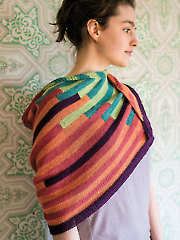 Teeter Totter Shawl Knit Pattern