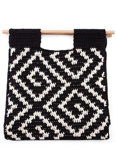 Labyrinth Tote Crochet Pattern