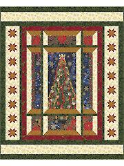 Modern Window Christmas Quilt Pattern