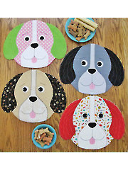 Puppy Party Placemat & Topper Pattern