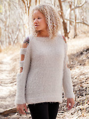ANNIE'S SIGNATURE DESIGNS: Cirocco Sweater Knit Pattern