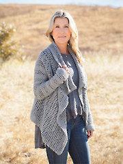ANNIE'S SIGNATURE DESIGNS: Chalet Cardigan Crochet Pattern
