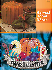 Harvest Home Decor Plastic Canvas