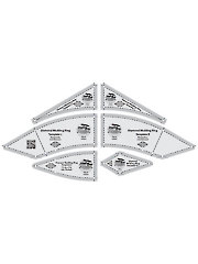 Diamond Wedding Ruler Set - 6/pkg.