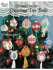 Thread Crochet Christmas Tree Balls