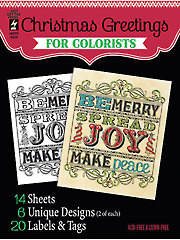 Christmas Greetings for Colorists