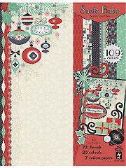 Santa Baby Artful Card Kit