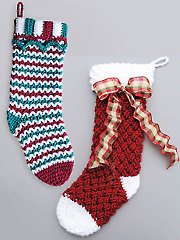 Christmas Stockings Crochet Pattern