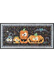 Pumpkin Pals Table Runner Pattern or Embellishment Set
