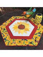 Sunflower Daze Table Topper Pattern