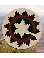 Navajo Wedding Basket Quilt Pattern