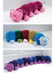 9041: Centipedes Knit Pattern