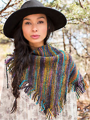 Kveta Shawl Knit Pattern