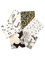 The Music in Me Fat Quarters - 6/pkg.