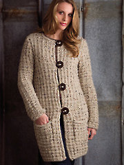 Casual Jacket Knit Pattern