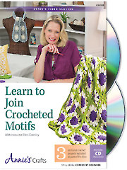 Learn to Join Crocheted Motifs Class DVD