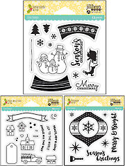 Shaker Card Holiday Stamp Sets