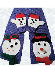 Snow Friends Scarf Set