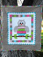 Night Owl Baby Quilt Pattern