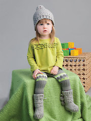 ANNIE'S SIGNATURE DESIGNS: Nanuk Slipper Booties & Hat Crochet Pattern