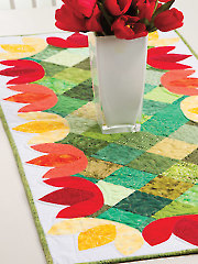 Bollenvelden Table Runner Pattern