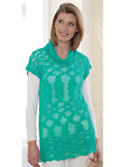 4670: Tunic & Cowl Neck Top Knit Pattern