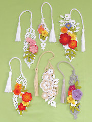 Irish Flower Bookmarks