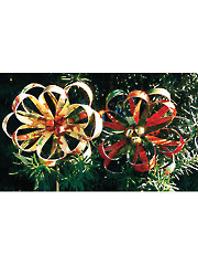 Winter Blossom Ornament Kit - 4/pkg.