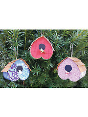Home Tweet Home Ornament Kit - 3/pkg.