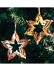 Holiday Star Ornament Kit - 3/pkg.