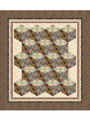Nine Patch Tumbler Quilt Pattern