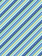 Little Ones Blue Flannel 1 Yard Cut